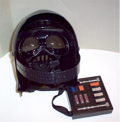 Darth Vader Voice Changer and Count Dooku's Light Saber