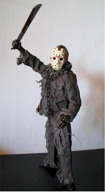 Jason Toys For Boys : Jason part action figure another toy review by michael