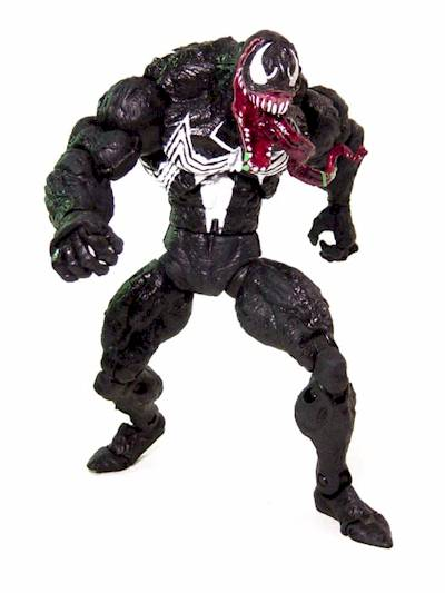 Spider-Man Man Wolf and Venom
