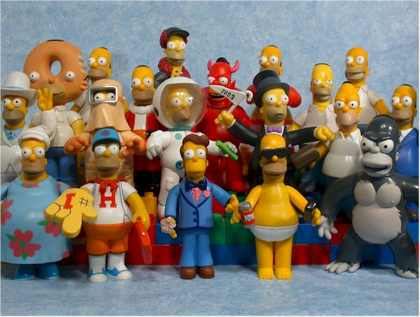 série MAGGIE 1 Complete Action Figure Toys Playmates WOS The Simpsons-MARGE