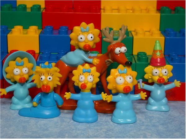 Buscas Muñecos de los Simpson