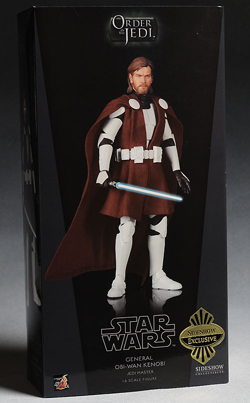 Sideshow Star Wars Obi-Wan Kenobi in Clone Trooper armor action figure