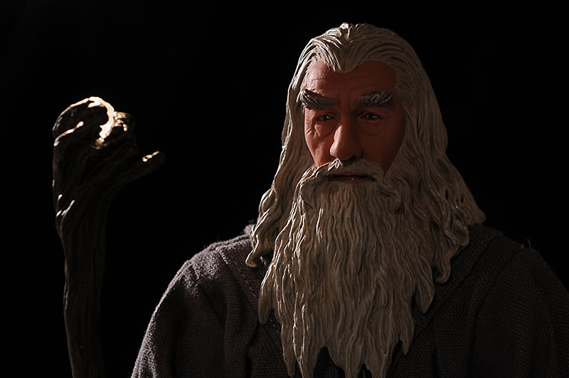 Gandalf the Grey 12 inch action figure by Sideshow Collectibles