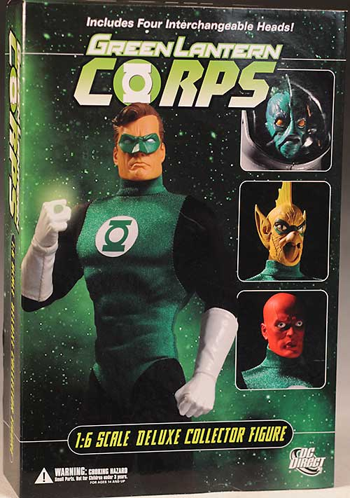 DC Direct Deluxe Green Lantern action figure