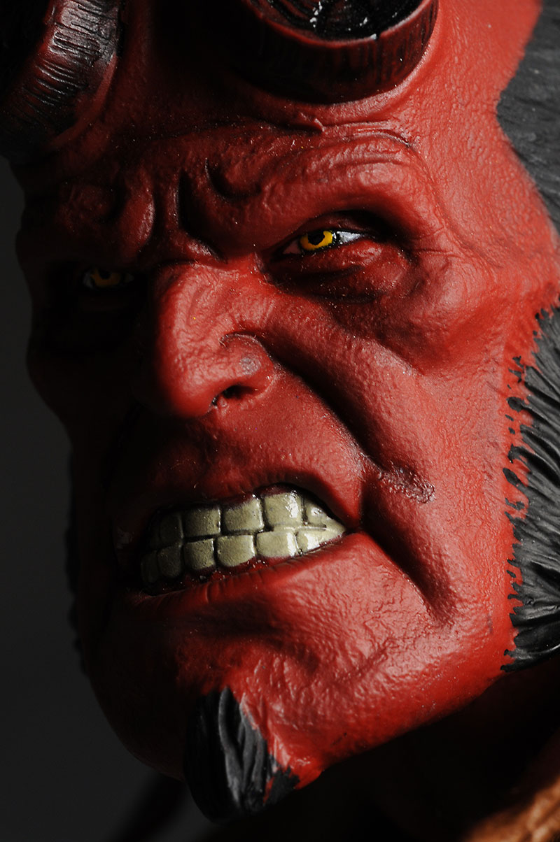 "Mezco 18"" Hellboy action figure"