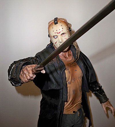 Jason Friday the 13th 18 inch quarter scale action figure by NECA