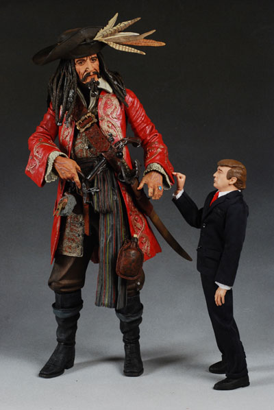 18 Inch Captain Teague Pirates Of The Caribbean Action