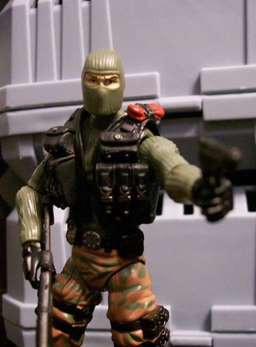 G.I. Joe action figure by Hasbro