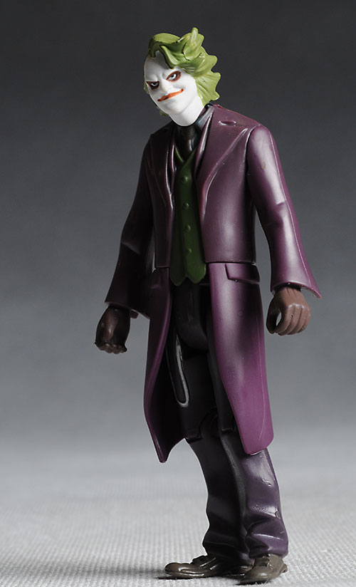 Mattel 4 inch Dark Knight Joker action figure