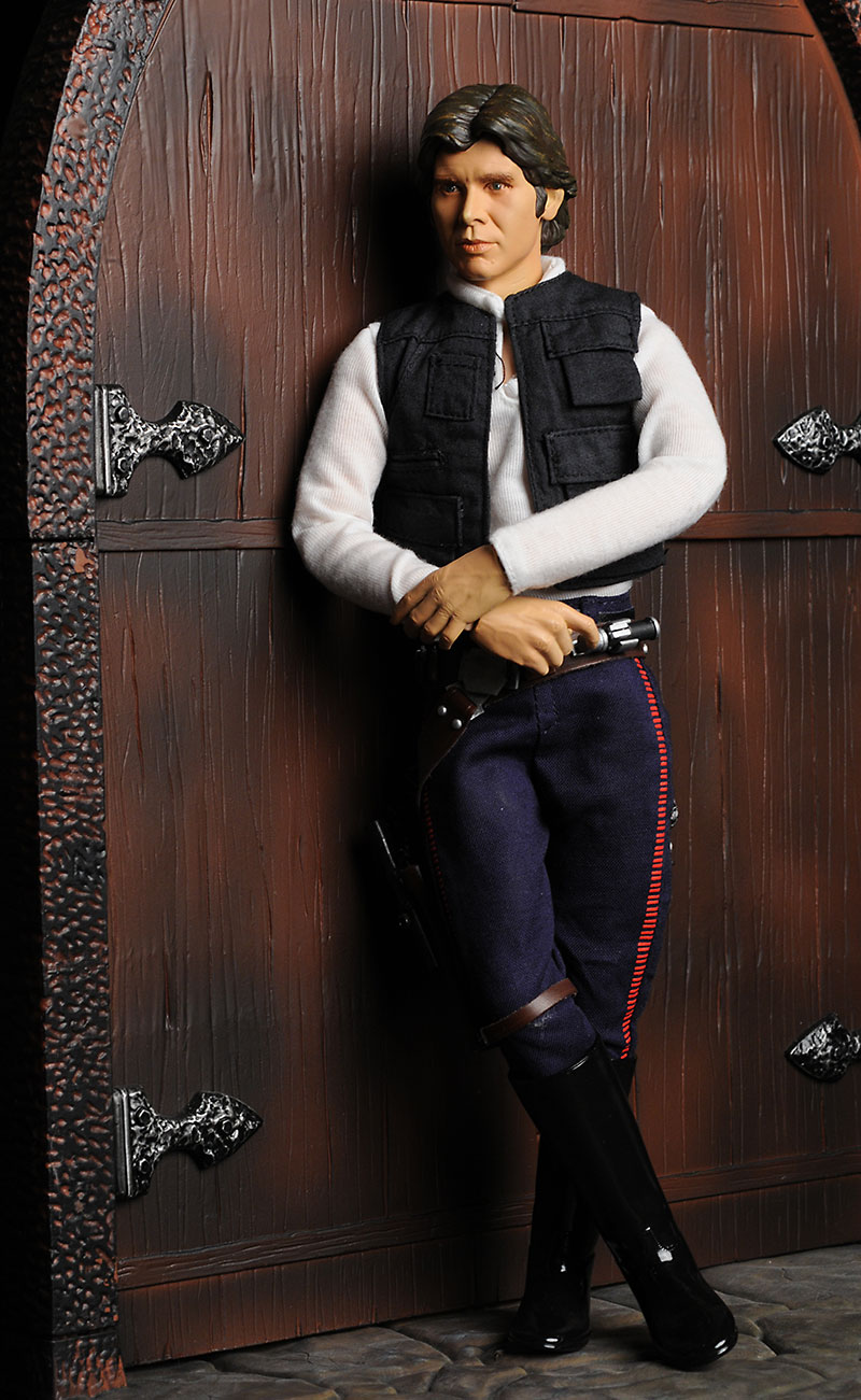Sideshow Collectibles Tatooine Smuggler Han Solo action figure