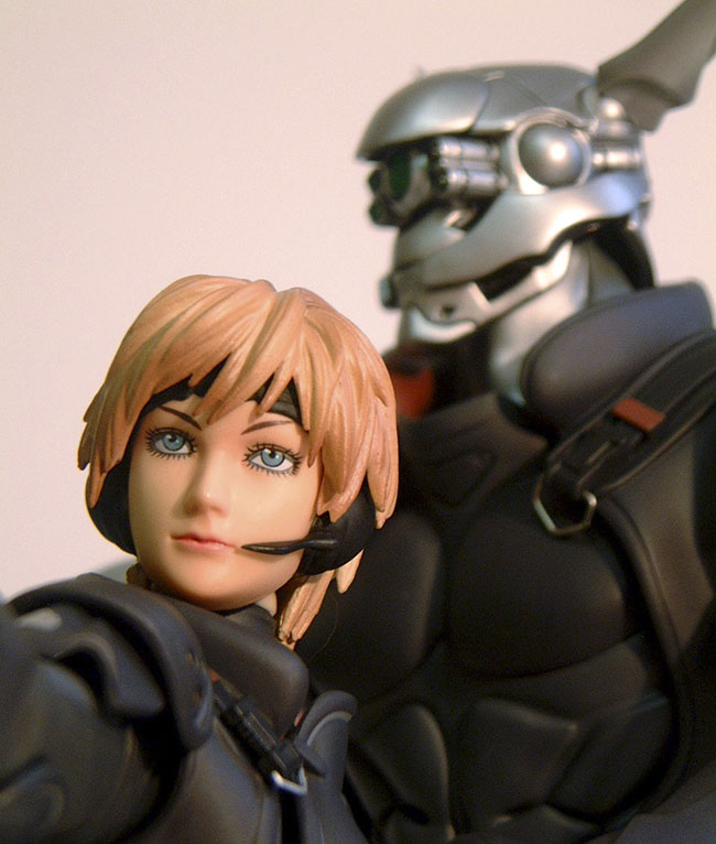 Appleseed Deunan Knute And Briareos Hecatonchires Action Figure Another Pop Culture Collectible Review By Michael Crawford Captain Toy