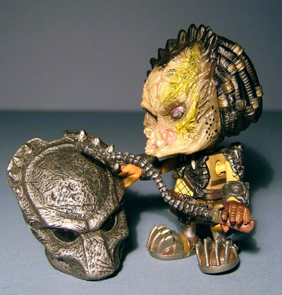 Alien vs Predator Cosbaby action figures review