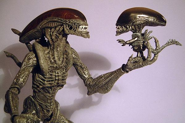 cosplay alien vs predator action figure
