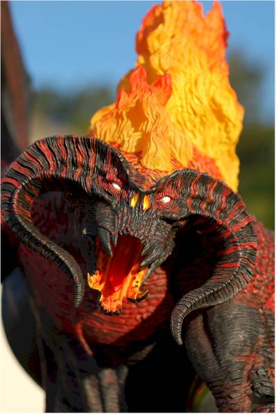 Credit Card For Bad Credit >> Lord of the Rings Balrog action figure - Another Toy ...