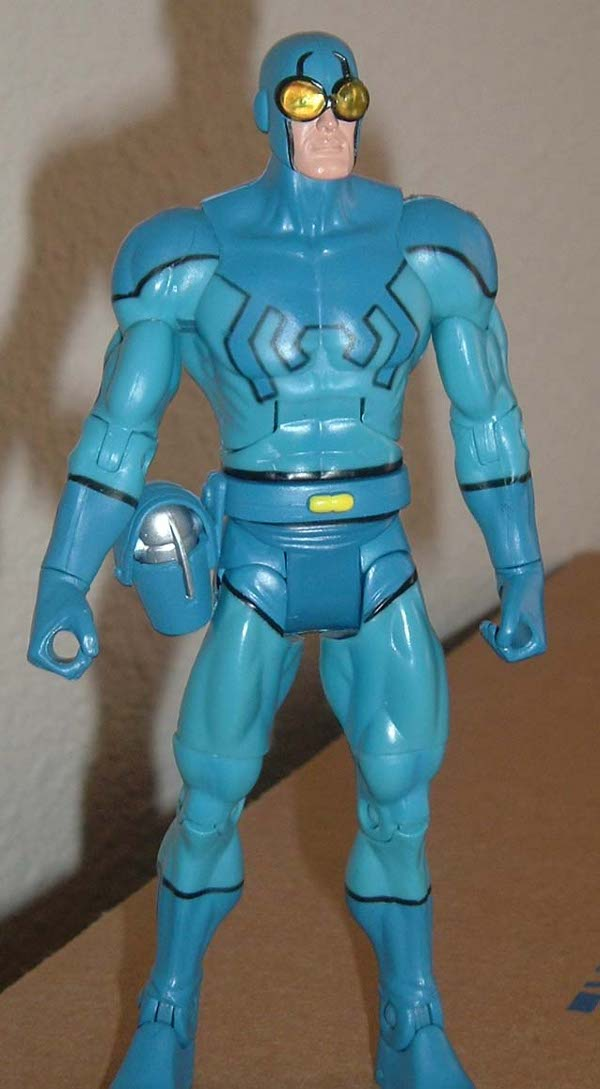 DC Universe Blue Beetle action figure by Mattel