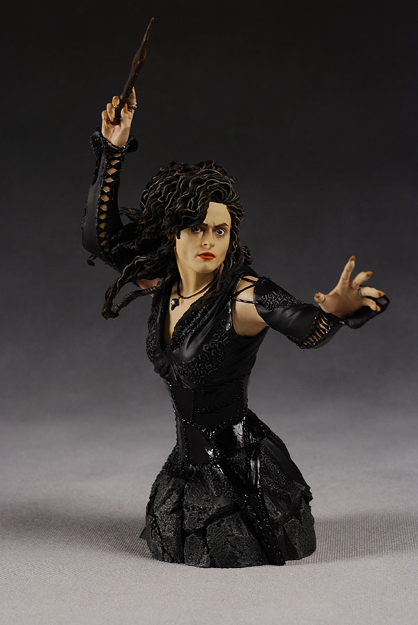 Bellatrix Lestrange minii-bust by Gentle Giant