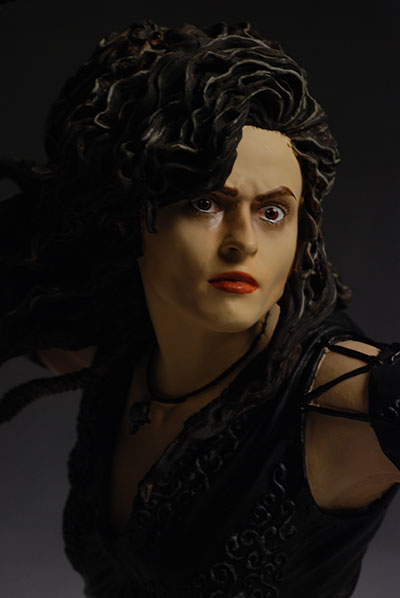 Bellatrix Lestrange Harry Potter mini-bust by Gentle Giant