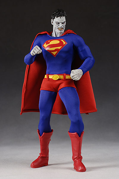 DC Direct Deluxe Bizarro action figure superman villain