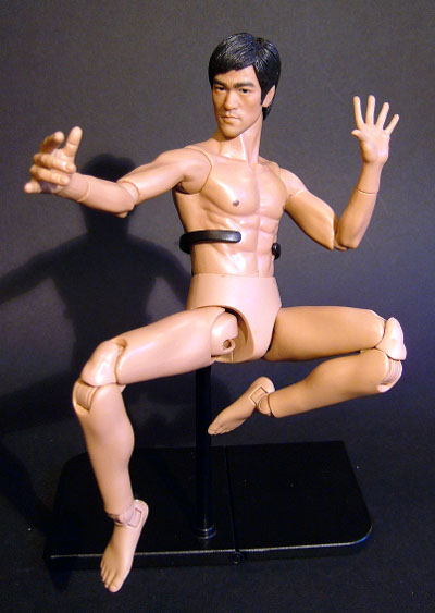 Bruce Lee 3.5 sixth scale action figuire body by Enterbay
