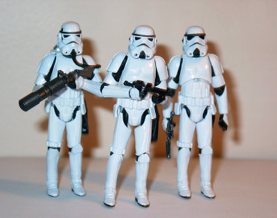 Star Wars action figures by Hasbro