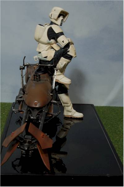 Biker Scout And Speederbike Statue Another Toy Review By