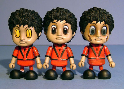 Thriller Michael Jackson Cosbaby action figures