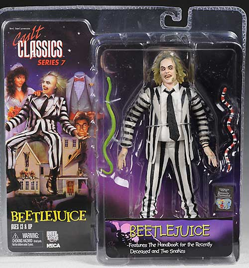 Cult Classics 7 Beetlejuice action figures