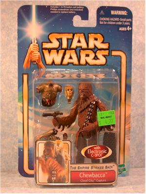 5 Sets Star Wars Accessories Saga Chewbacca Cloud City Capture Figure Toys