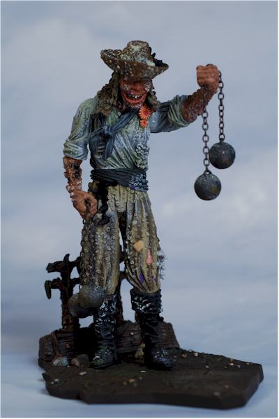 Pirates of the Caribbean Dead Man's Chest series 3 Clanker action figure - Another Pop Culture ...