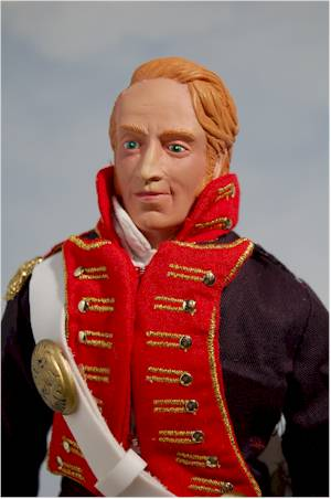 "William Clark Costume 12"" captain william clark"