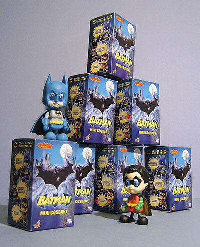Batman Cosbaby figures from Hot Toys
