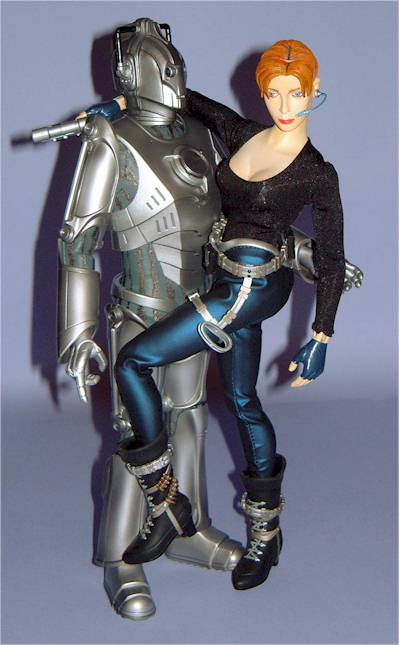 Dr Who Cyberman Action Figures Another Toy Review By