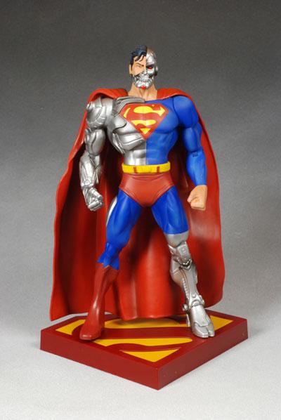 Cyborg Superman Action Figure Another Pop Culture
