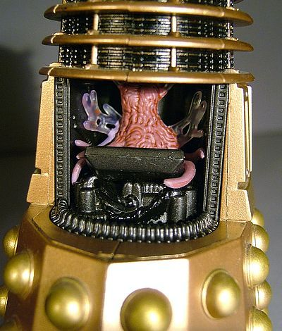 Dr. Who Dalek statue by Weta
