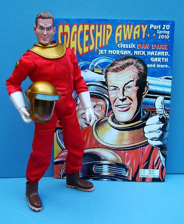 Dan Dare sixth scale action figure by Day2Day Trading