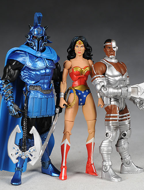 Mattel DC Universe wave 4 action figures