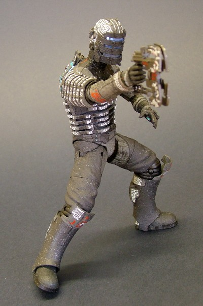 Dead Space Isaac Clarke action figure from NECA
