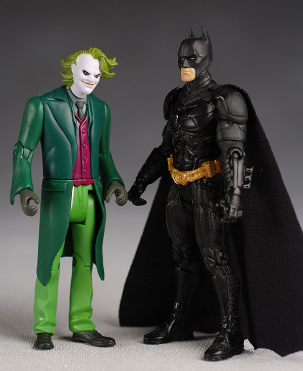 Dark Knight Batman and Joker action figure 5 inch from mattel