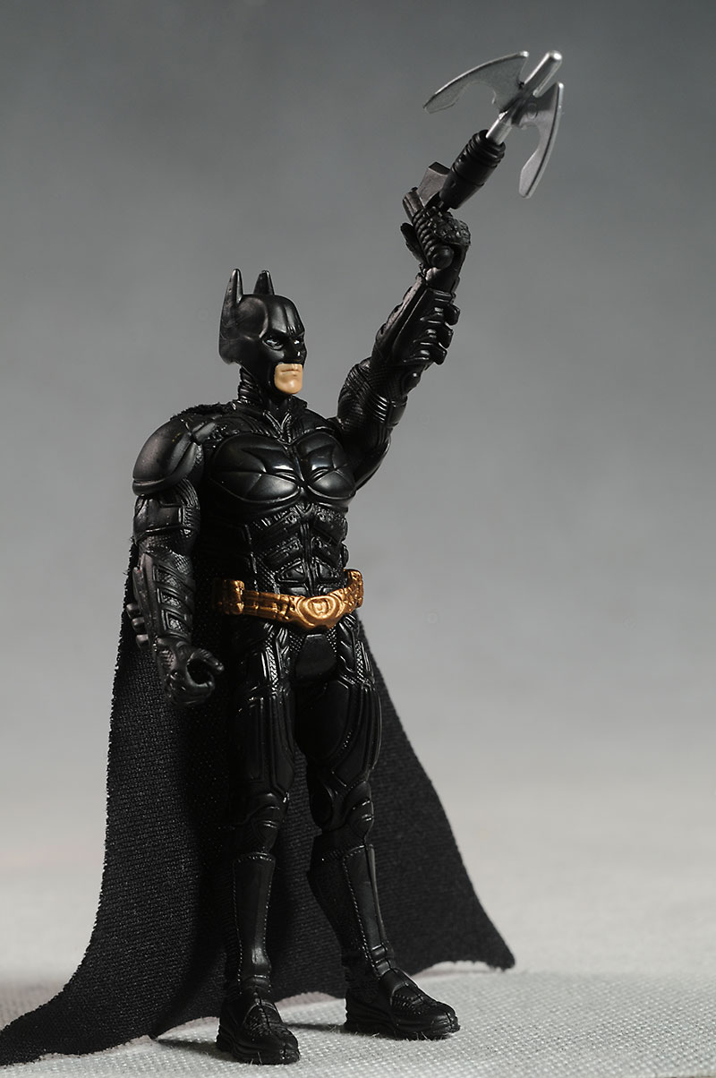 Dark Knight Rises action figures by Mattel