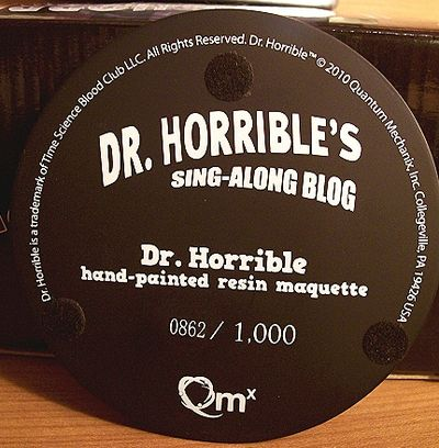 Dr. Horrlble statue by Quantum Mechanix