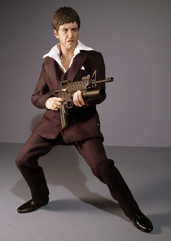 69f90c80858 Scarface sixth scale action figures - Another Pop Culture Collectible  Review by Michael Crawford
