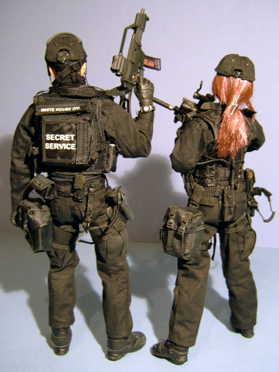Secret Service Emergency Response Team (ERT) sixth scale action figures from Hot Toys