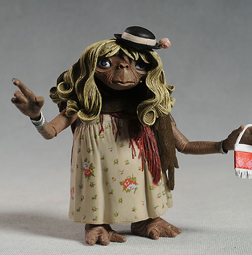 E.T. action figure by NECA