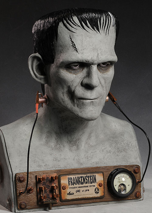 Frankenstein full scale bust by Factory Entertainment