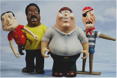 Family Guy Series 6 Action Figures Another Toy Review By