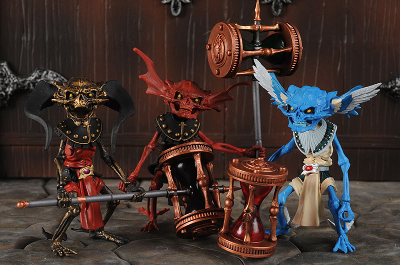 Four Horsemen SDCC exclusive Timekeeper action figures
