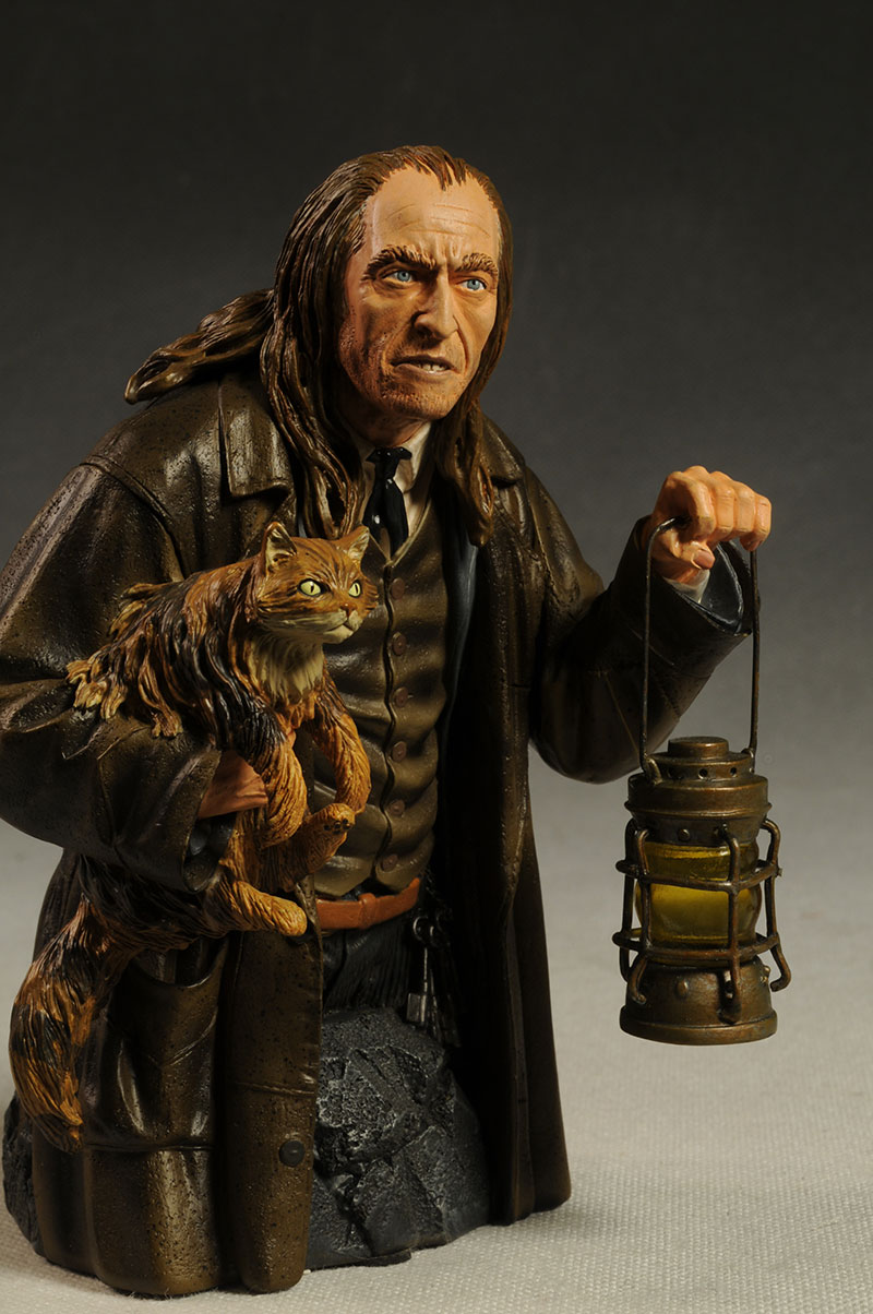 argus Filch Harry Potter mini-bust by Gentle Giant