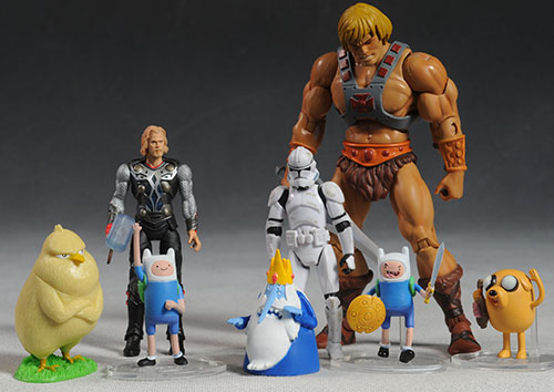 Finn and Jake Adventure Time figures by Jazwares