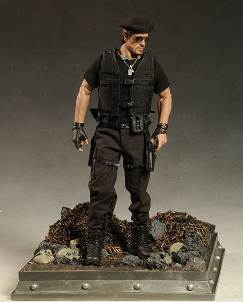 Fire Fight action figure diorama Triarama by Triad Toys