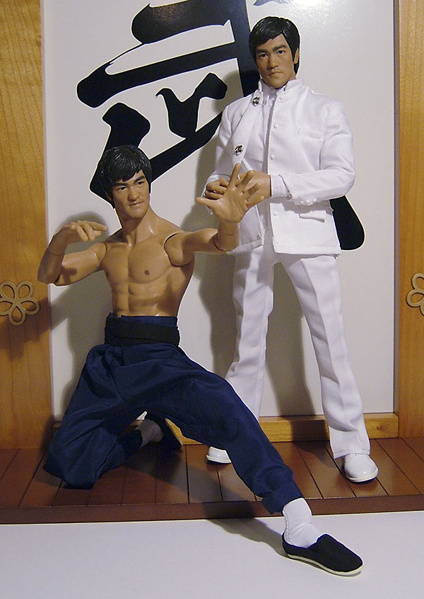 Fist of Fury Bruce Lee action figure from Enterbay